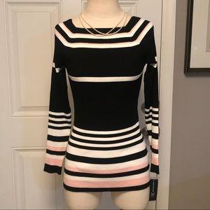 NWT INC Striped Sweater